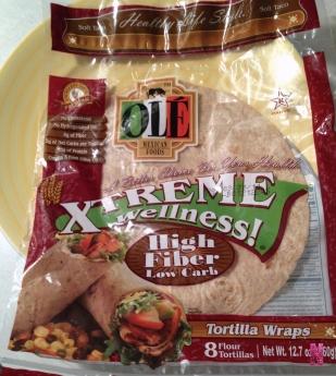 ole high fiber tortillas