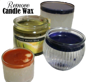 Removing Candle Wax
