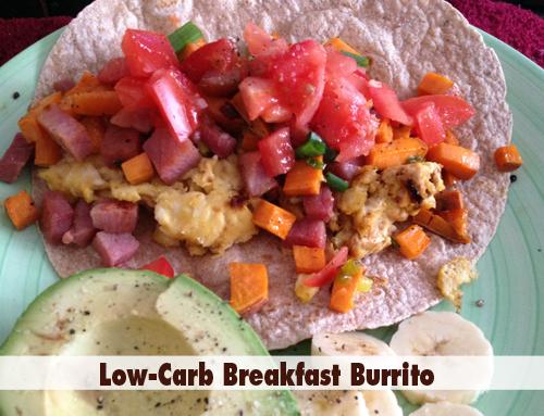 Low Carb Breakfast Burrito