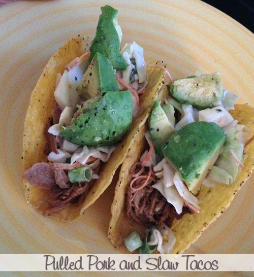 Pulled Pork and Slaw Tacos